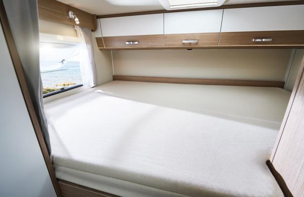 Drap-housse pour lit capucine/ lit double - beige